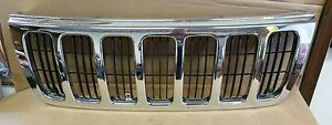 1999 2000 2001 2002 2003 Jeep Grand Cherokee Grille Chrome