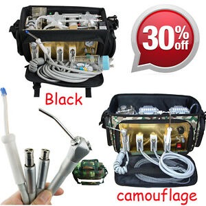 Portable Oilless Dental Unit Air Water Compressor Bag Suction System Syringe Fda