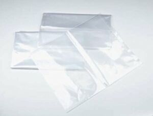 20x40 1 Mil Clear Plastic Flat Open Poly Bag 100 Pack Magicwater Supply