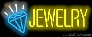 Jewelry Neon Sign Diamonds Watches Gold Silver Pawn Jewelry Repair Jantec Usa