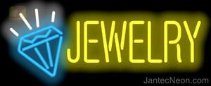 Jewelry Neon Sign Diamonds Watches Gold Silver Pawn Jewelry Repair Jantec
