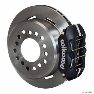 Wilwood 140 11396 Dynapro Low profile Rear Parking Brake Kit For 8 8 Ford Axle