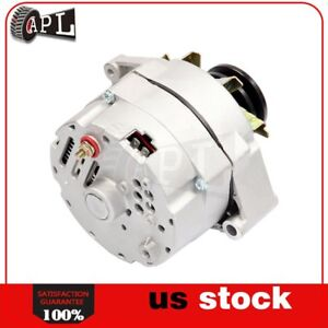 Alternator High Output For 105 Amp 1 Wire 10si Self Exciting Sbc Bbc Gm 7127b