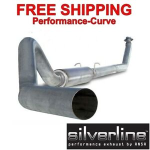 Silverline Diesel Exhaust System Fits 94 02 Cummins 4 Aluminized Ds101a
