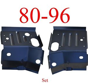 80 96 Ford Cab Mount Floor Support Set Ford Truck Bronco Rust Repair Panel