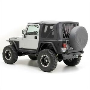 Smittybilt 9970235 Soft Top Org mfr Replacement With Tinted Windows For Jeep Tj