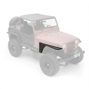 Smittybilt 76866 Xrc Armor Front Tube Fenders For 1976 1986 Jeep Cj 7