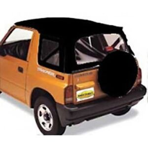 Smittybilt 98715 Soft Top Org Mfr Replacement One Piece For 86 94 Geo Tracker