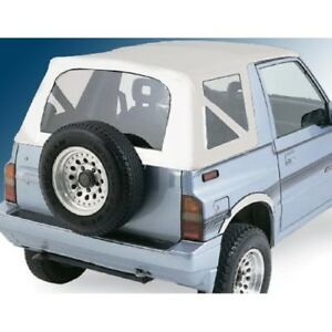Smittybilt 98752 Soft Top Org mfr Replacement One Piece For 86 94 Geo Tracker