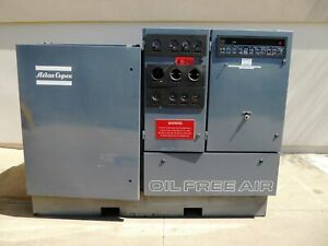 Atlas Copco 150 Hp Model Zr3 67 Air Compressor ac2013