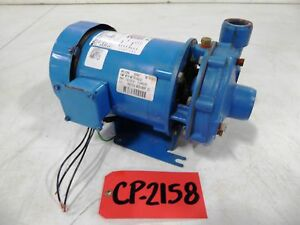 Goulds 5 Hp 1 25 Inlet 1 Outlet Centrifugal Pump cp2158