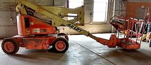 Jlg Boom Lift Model 40 Electric 1997 Max Height 40 Max Reach 20 5 Penn ohio wv