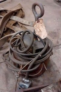 Crane Magnet Industrial Heavy Duty Electromagnetic Lift Mag Works Great Pa ohio