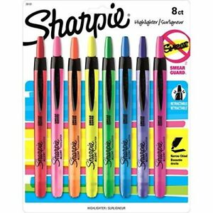Sharpie Accent Retractable Highlighters Assorted Fine Point 32 pack