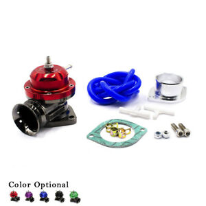 Universal Type Rs Turbo Blow Off Valve Kit Adjustable 25 Psi Bov Blow Dump Red