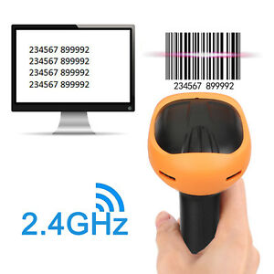 Wireless Bluetooth 1d Code Mobile Phone Screen Imager Barcode Scanner Reader New