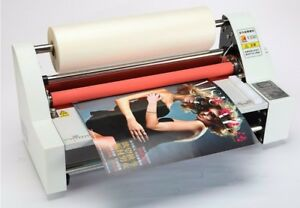 Brand New V350 Laminator Four Rollers Hot Roll Laminating Machine 220v Or 110