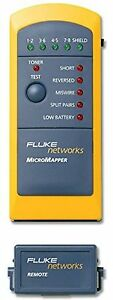 Fluke Networking Products Networks Mt 8200 49a Cable Tester
