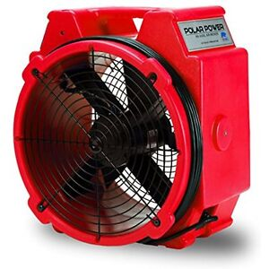 B air Categories Pb 25 1 4 Hp 3320 Cfm Polar Axial Fan High Velocity Mover For