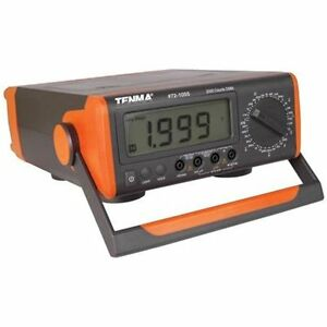 Tenma Multi Testers 72 1055 Benchtop Digital Multimeter With Capacitance Temp
