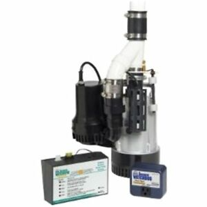 Basement Sump Pumps Watchdog Bw4000 1730 Gallons Per Hour Combination Primary