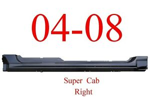 04 08 F150 Right Super Cab Extended Rocker Panel Ford Truck New 1988 104