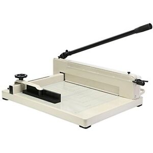 Orangea Stack Guillotine Trimmers Paper Cutter Machine 17 Inch Heavy Duty Tool