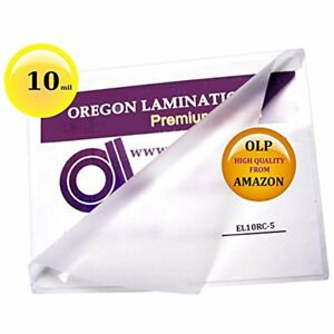 Qty Laminating Supplies 250 10 Mil Menu Pouches 12 18 Hot 12x18