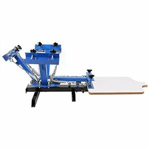 Bestequip Screen Printing Screen Machine Station Color For T shirt Diy Press