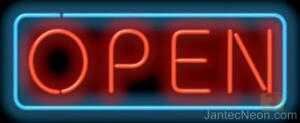 Open Neon Sign Restaurant Business Bar Coffee 2 Sizes Jantec Usa Free Shipping