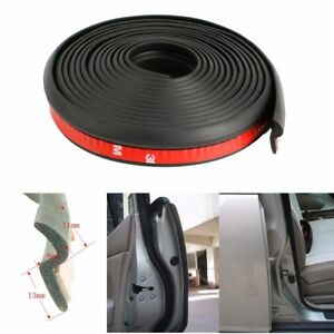 4m Z Shape Car Door Trim Edge Protector Moulding Rubber Weatherstrip Seal Strip