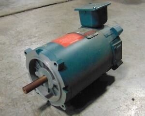 Used 1 2 Hp Reliance Electric T56h3203n sm Motor Ec56c Frame 90v 2500 Rpm