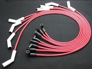 Maxx 534cr 8 5mm Ceramic Boot Spark Plug Wires Big Block Chevy 396 427 454 Hei