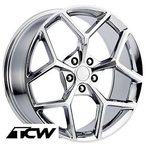 20 Inch 20x9 20x10 Chevy Camaro Z28 Oe Factory Replica Chrome Wheels Rims