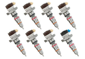Ford Power Stroke Powerstroke Fuel Injector F E Series 99 03 7 3 Set Free Ship