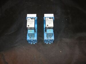 Finder Type 94 04 10a 250v Volt Relay Switch Lot Of 2