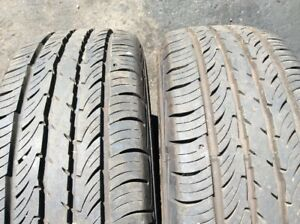 Two Tires Falken Sincera Touring Sn211 P195 70r14 90t M s Used