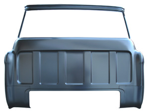 Rear Cab Panel Outer Large Window 1955 1956 1957 58 59 Chevrolet Chevy Gmc Truck