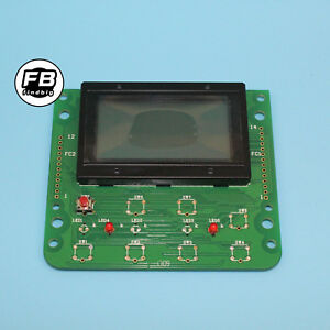 Lcd Screen For Kobelco Excavator Sk200 6 Monitor Lcd Display Panel Cluster Gauge