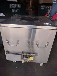 Stainless Steel Square Gas Tandoori Oven For Restaurant 1125