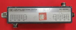 Hp 774d 215 450mhz Dual Directional Coupler 20db Type N