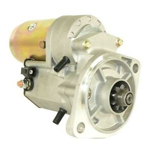 New Starter Hyster Forklift S30xl S30xm S40xl S50xl S60xl Others 1981 1992 16739