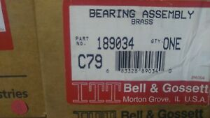 New Bell Gossett Brass Bearing Assembly Part 189034 C79