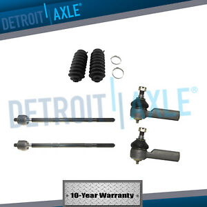 Front Inner Outer Tie Rod Set W steering Boot 2001 2007 Escape Tribute Mariner