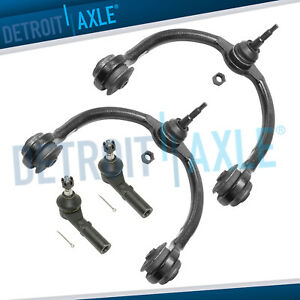 4pc Front Upper Control Arm Tie Rods Kit 2005 2010 Jeep Commander Grand Cherokee