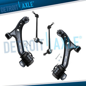 2005 2010 Ford Mustang Front Lower Control Arm Ball Joint Sway Bar End Link Kit