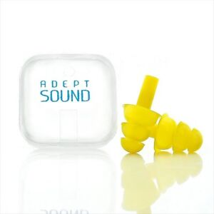 Earplugs Noise Cancelling For Sleeping Concerts Sports Racing Silicone Reusable