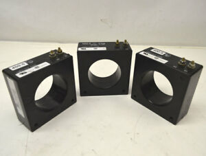 lot Of 3 Cutler Hammer 66 401 400 5a Current Transformers 600v Ins class 10kv