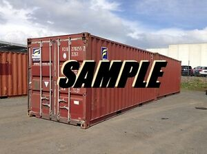 40ft Standard Shipping Container Storage Container In New York Nj