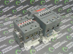 Used Abb A95 30 145 Amp Contactor Assembly 110 120v Coil